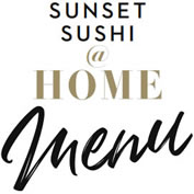 Sunset Sushi at Home