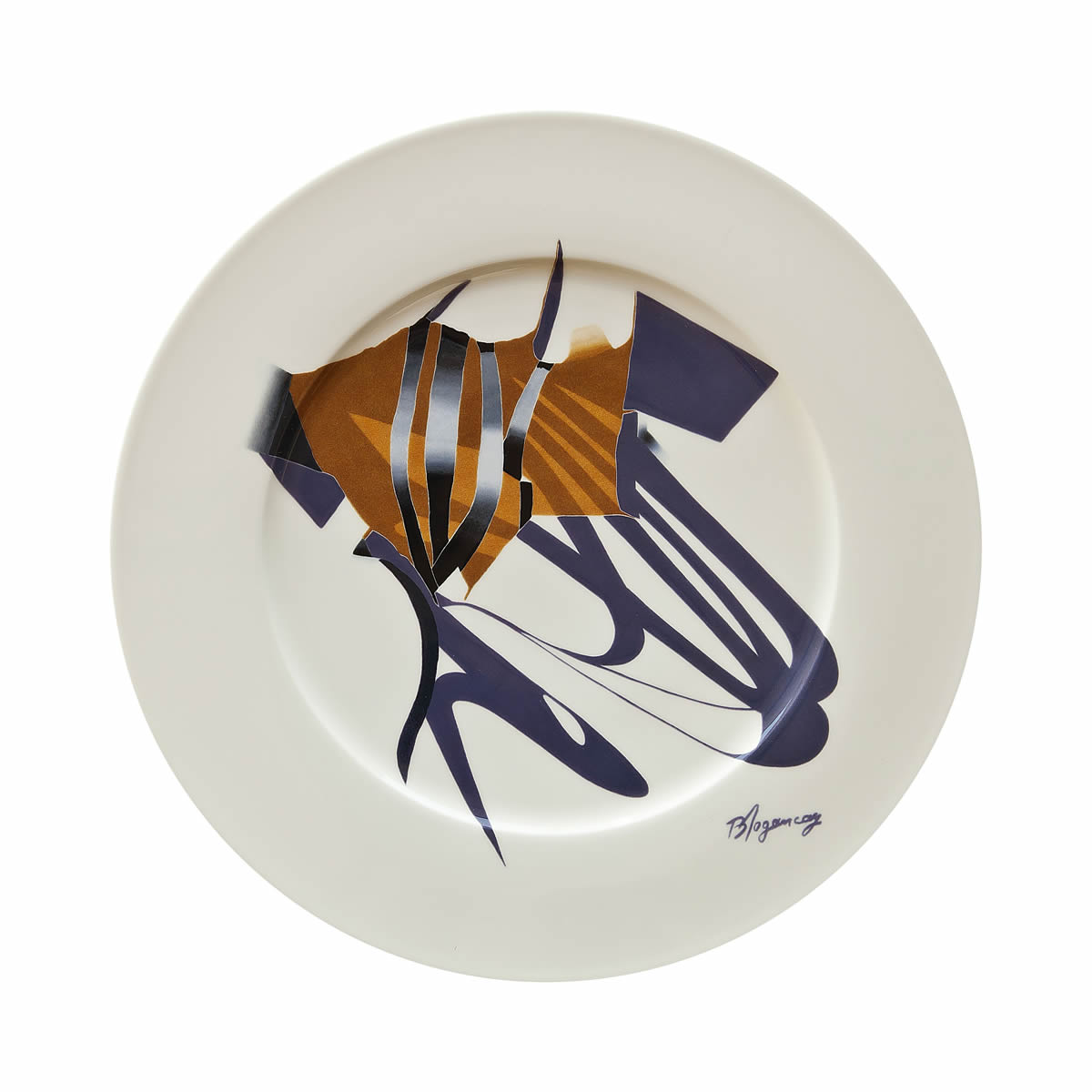Shadows and Stripes, 1978 - Ribbons Series Plate