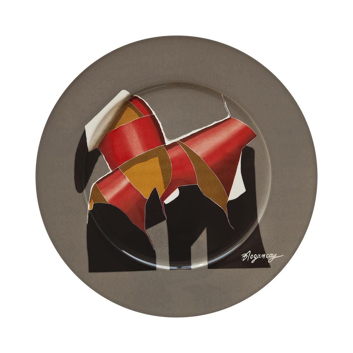 Trojan Horse, 1978 - Ribbons Series Plate